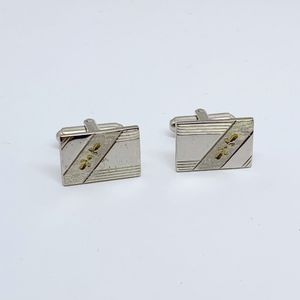 Other - stainless steel cufflinks set #179